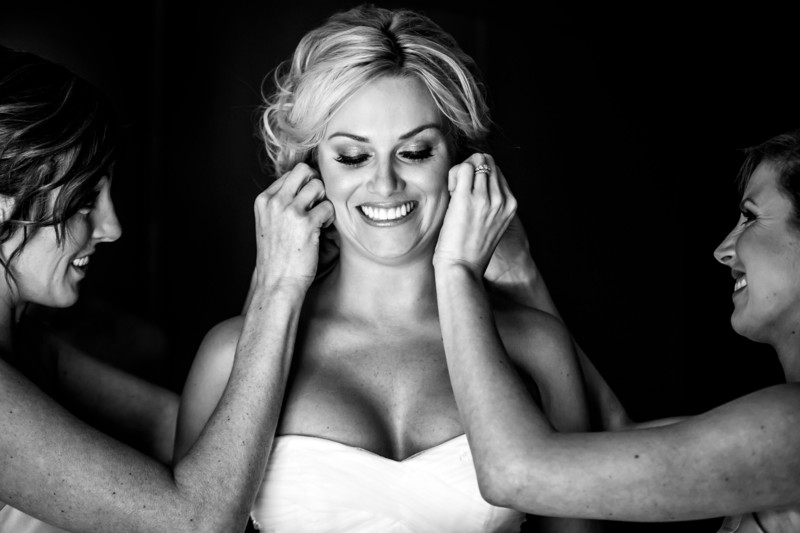 Bride at the Phoenician - Scottsdale Arizona Weddings - Ben and Kelly Koller