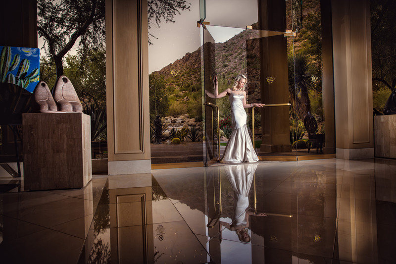 Wedding Ceremony at the Phoenician - Scottsdale Arizona Weddings - Ben and Kelly Koller