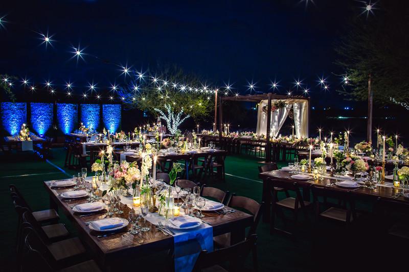 Hotel Valley Ho Wedding Reception Photography - Best Scottsdale Wedding Photographers - Ben and Kelly Photography