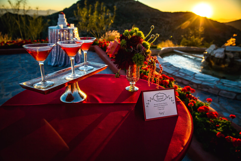Different Pointe of View in Phoenix Wedding Reception - Best Phonix Wedding Photographers - Ben and Kelly Photography