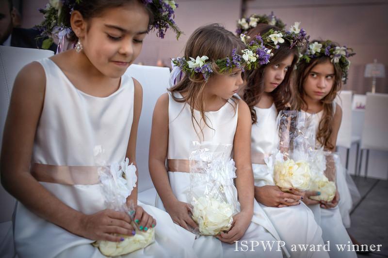 Flower girls in wedding party win ISPWP award