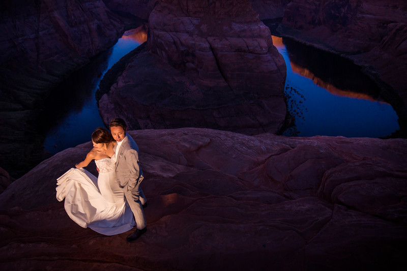 Horseshoe Bend pre-wedding