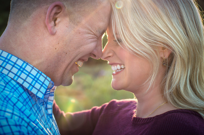 happy engagement photos in Sedona arizona