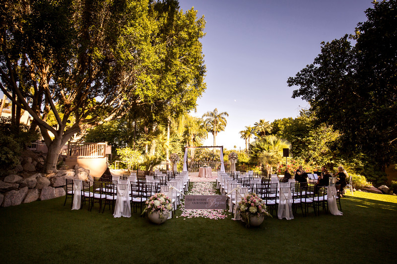 garden wedding at The Phoenician - Scottsdale Arizona
