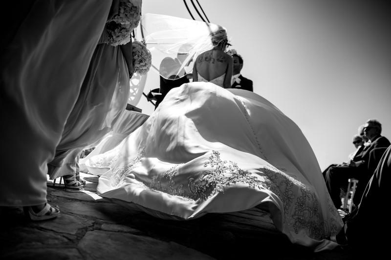 cool wedding dress photo - Phoenix Wedding Photography