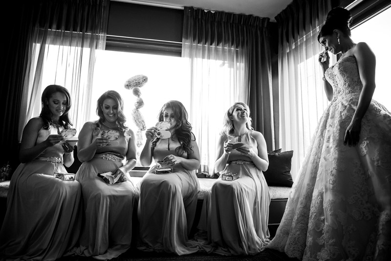 sweet bridal party photo Scottsdale