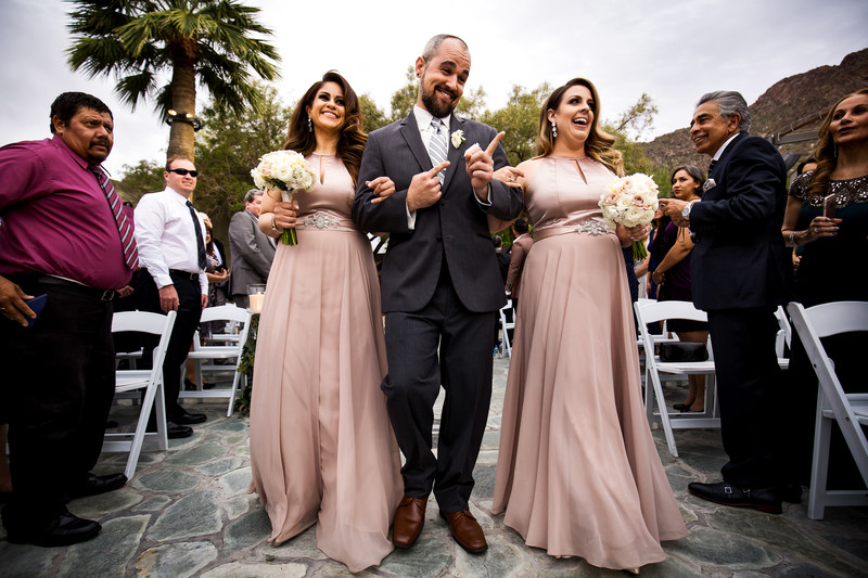 wedding ceremony at the Sanctuary Resort Scottsdale