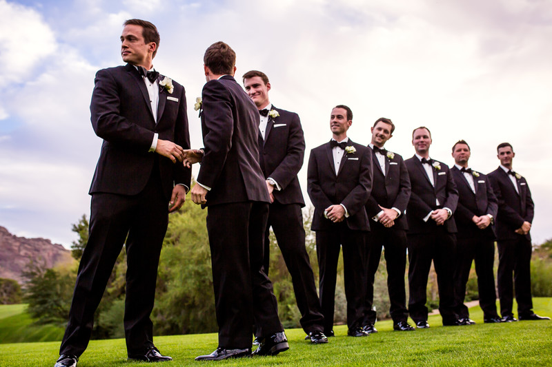 groomsmen photo wedding in Paradise Valley