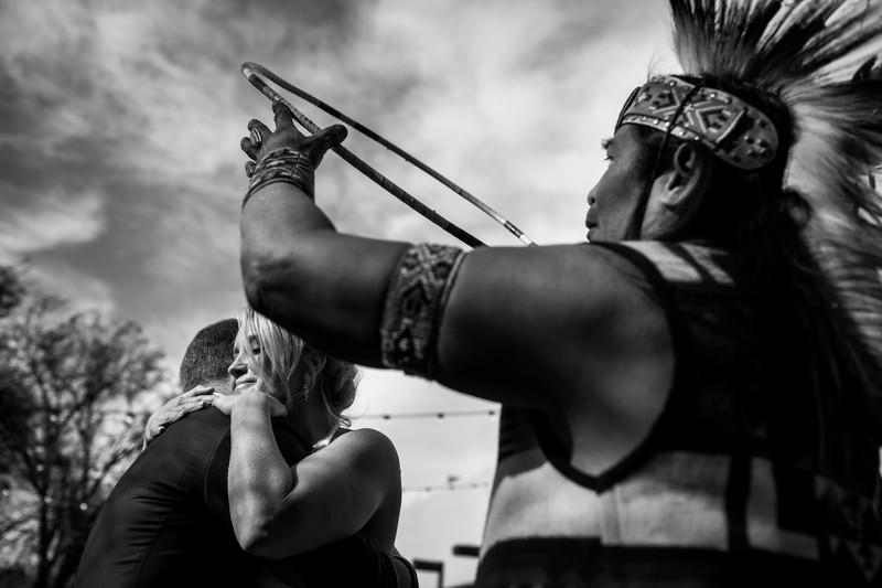 native american wedding ceremony in Tucson Arizona