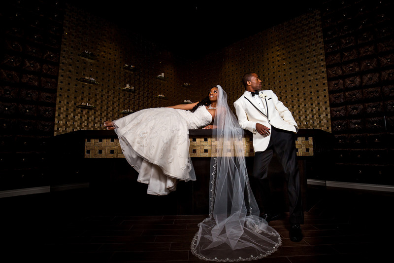 Luxury wedding in Downtown Phoenix - Chateau Luxe