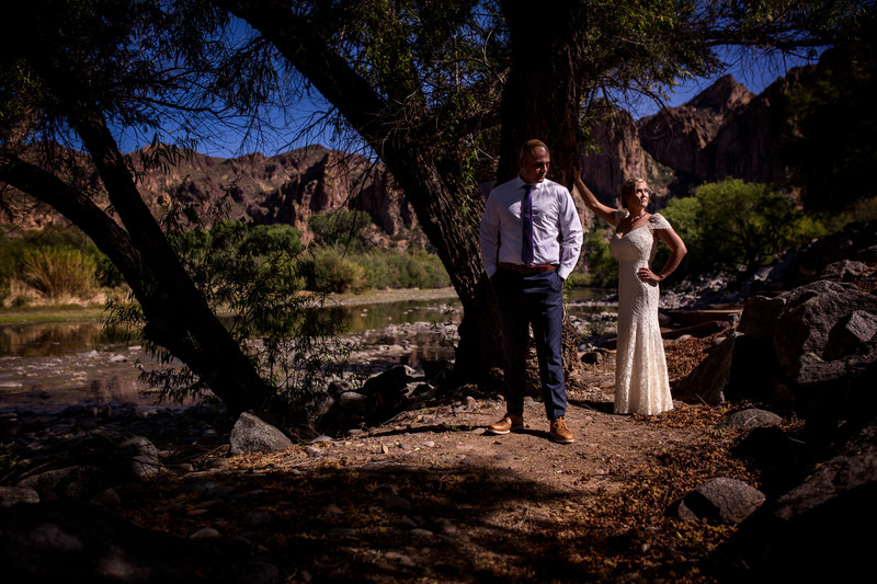 Saguaro ranch desert wedding lower salt river Arizona