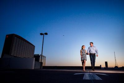 Arizona Center Phoenix engagement photography