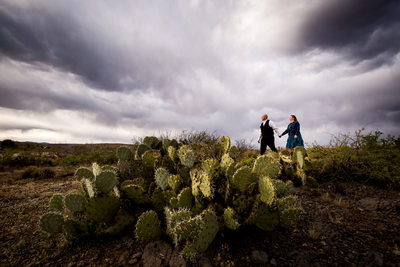 desert engagement photos in Phoenix Arizona
