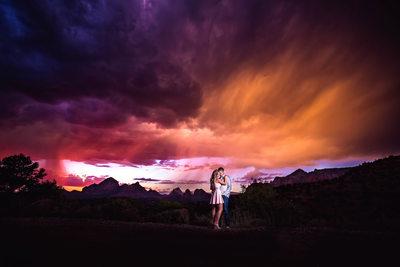 Best Sedona Engagement Photography