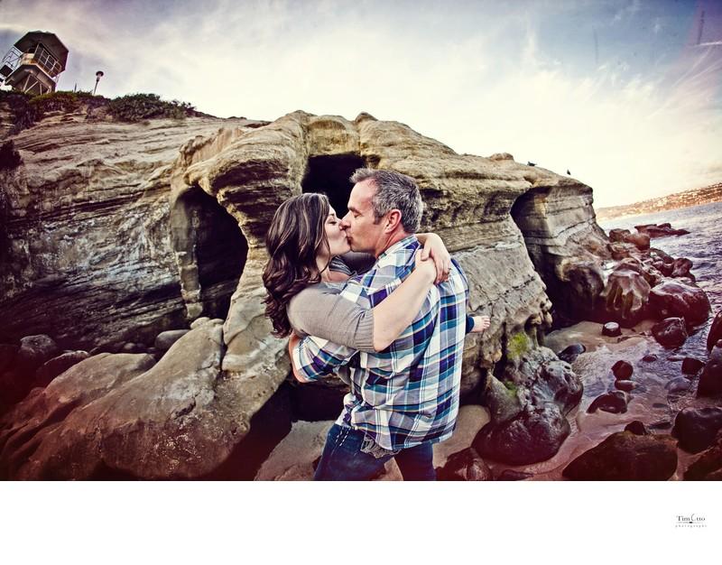 La Jolla Cove Engagement picture