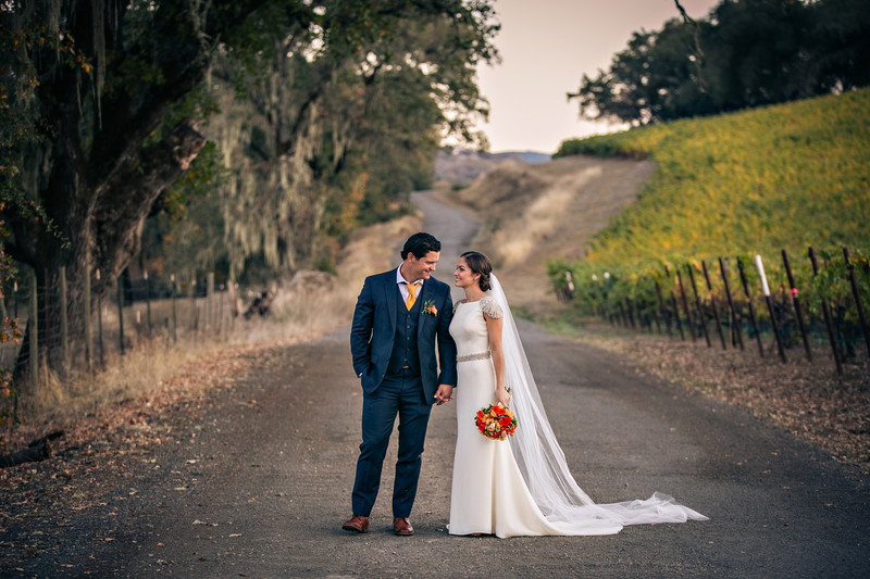 Brutocao Vineyards Bride and Groom Moment