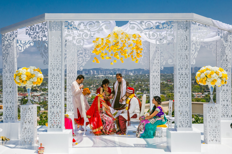 Marriott Marina Del Rey Indian Wedding Photography