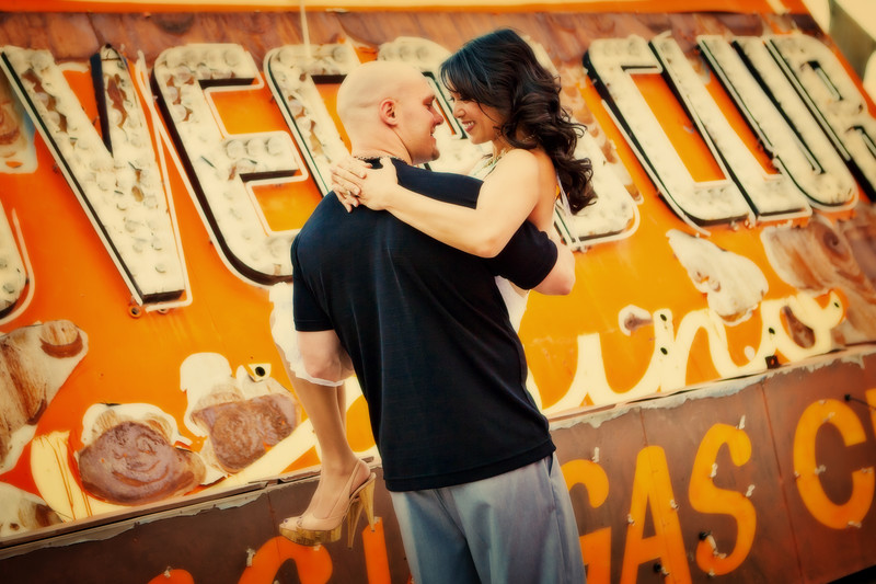 Las Vegas Boneyard Engagement Session