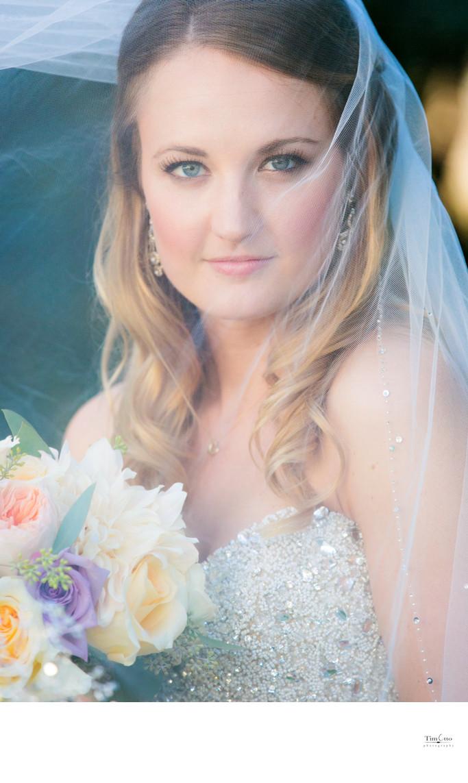 Stunning Bride at Estancia Hotel La Jolla