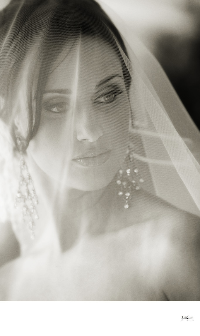 Bride Portrait with Vail