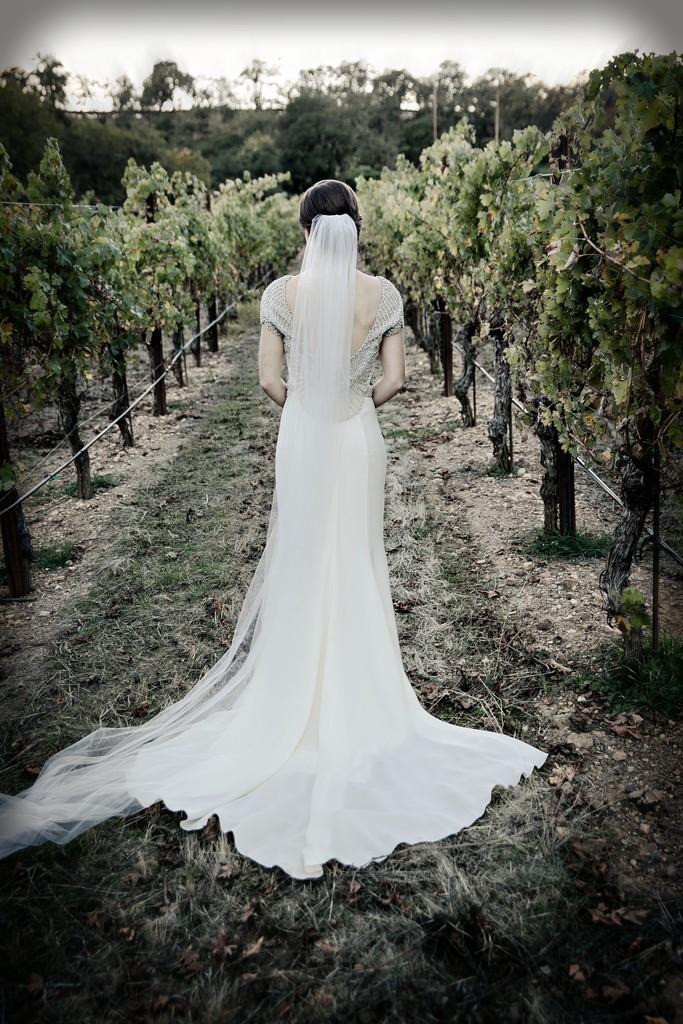 Back of Dress Photo at Brutocao Vineyards