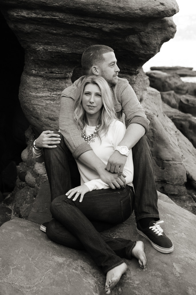 La Jolla Cove Engagement pictures