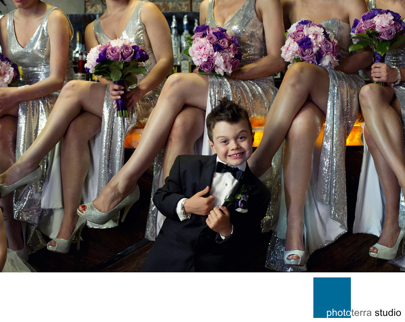 Ring bearer smile!
