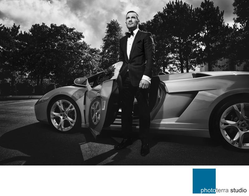 Groom & Lamborghini