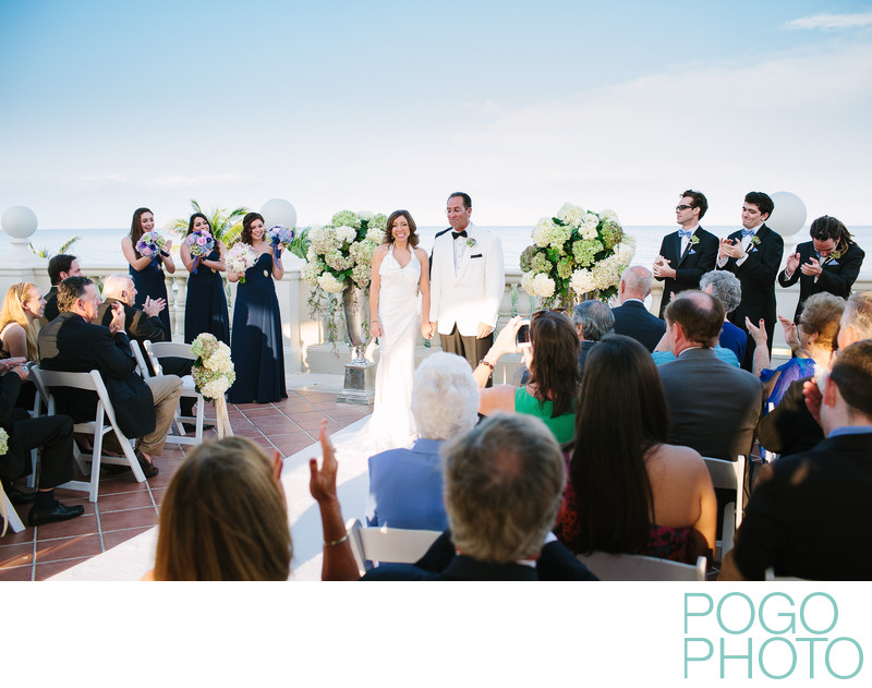 First Married Moments at The Breakers, Palm Beach, FL