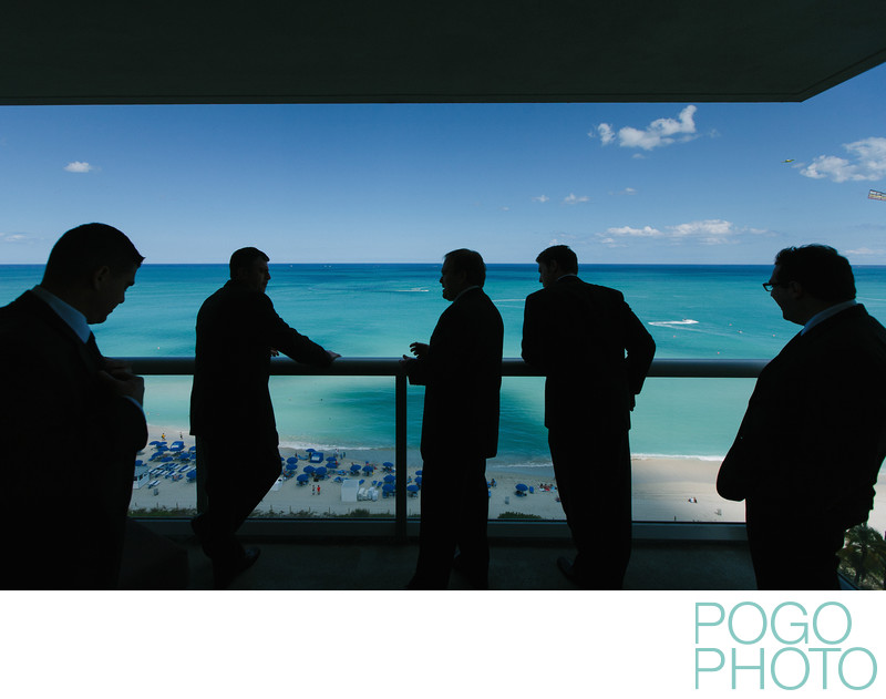 Wedding photography at the Eden Roc, Miami Beach