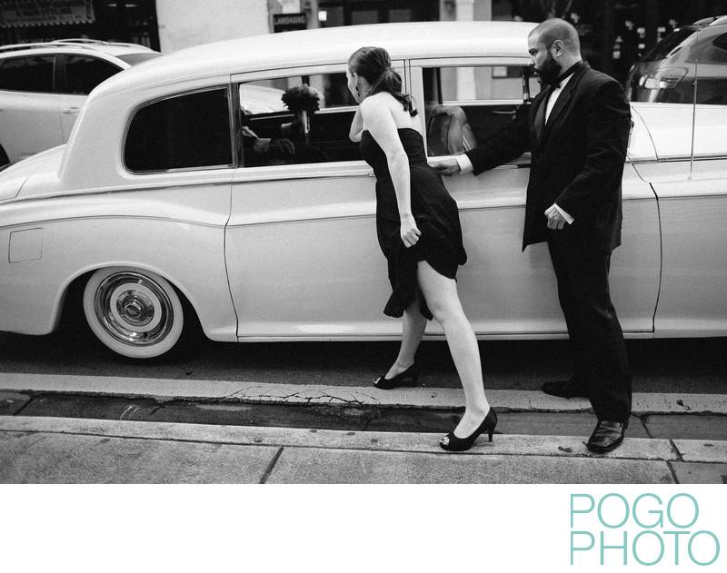 Miami Classic Car Wedding Photography