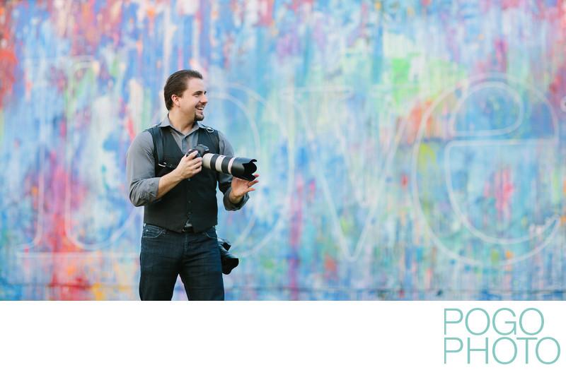 Steve Pogozelski, co-owner of Pogo Photo, Wynwood