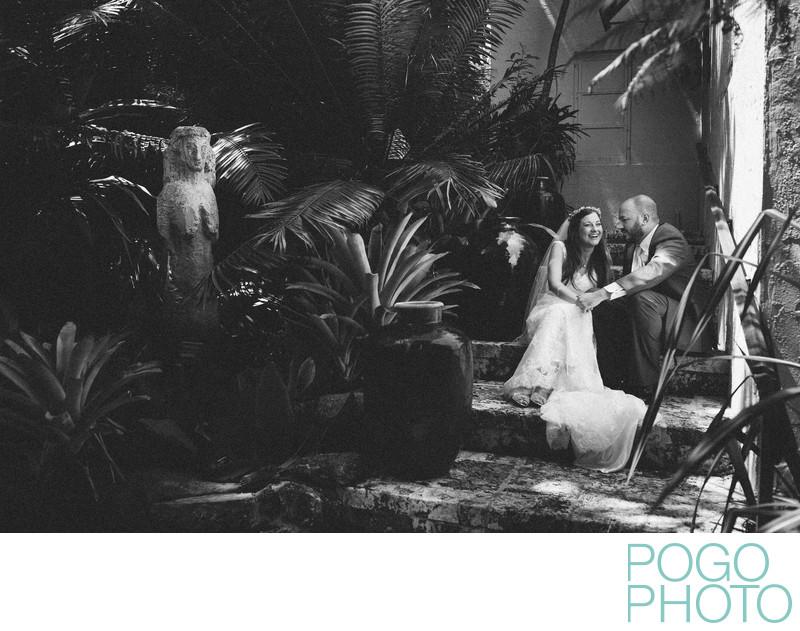 Ann Norton Sculpture Gardens wedding photographer