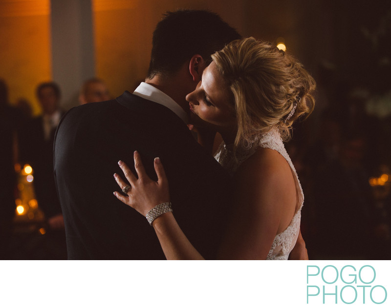 Candlelit First Dance at Elegant FL Ballroom Wedding