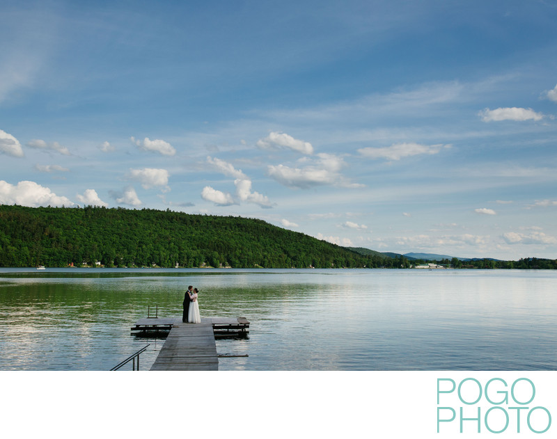Lake Morey Inn Wedding Photography in Fairlee Vermont