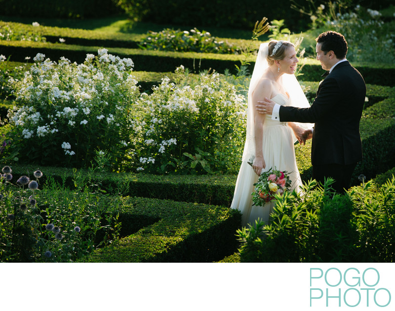 Garden Wedding at Hildene, the Lincoln Family Home