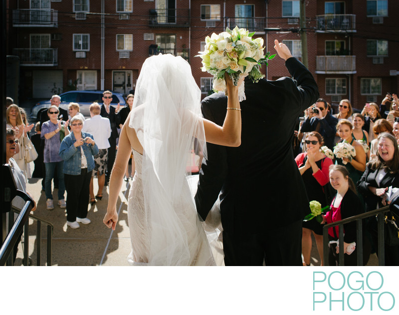 Documentary Street Photography at Urban Wedding