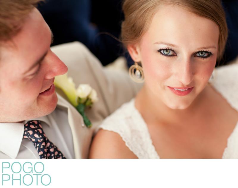 Wedding in Jupiter, Florida with indoor portraits