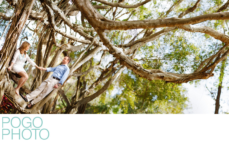 Day After Wedding Portraits in Naples, Florida