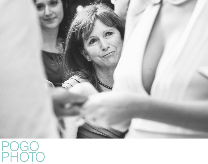 Proud mom watches daughter marry, Jupiter Beach Resort