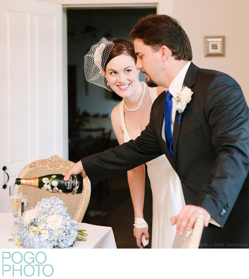Pogo Wedding: 1998 Perrier Jouët Fleur de Champagne