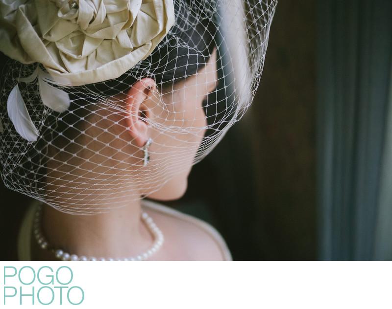 The Pogo Wedding: Em's self portrait with her Lumix GF1