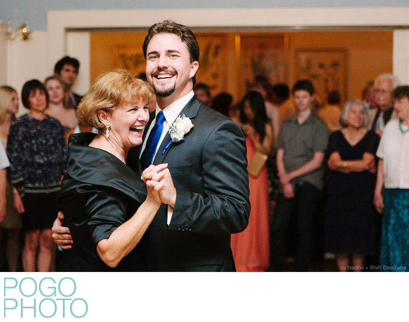The Pogo Wedding: Steve dancing with his mom