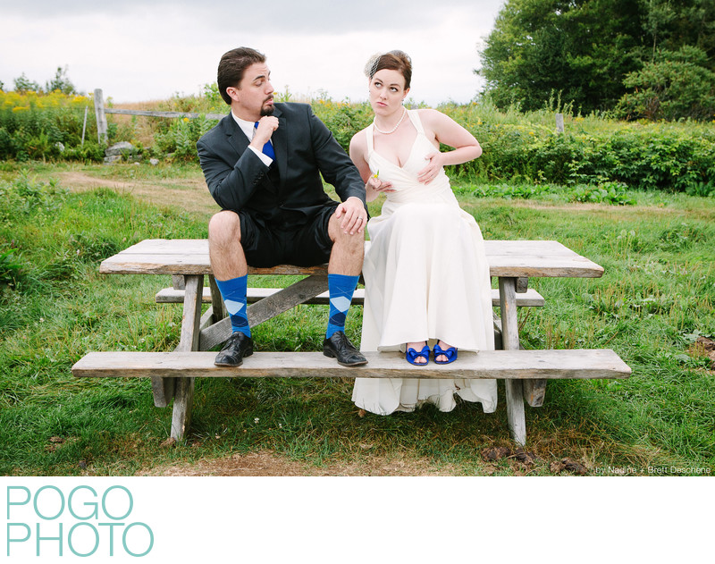 The Pogo Wedding: Being silly at our Day After Session