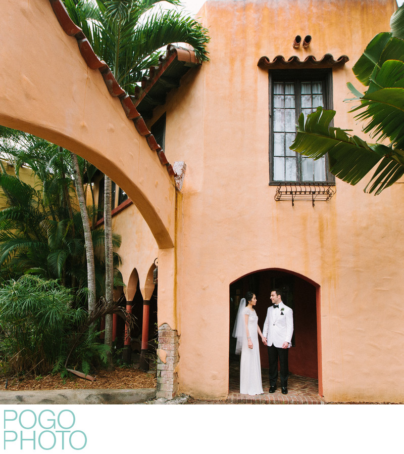 Coconut Grove Wedding Photographers at Villa Valentino