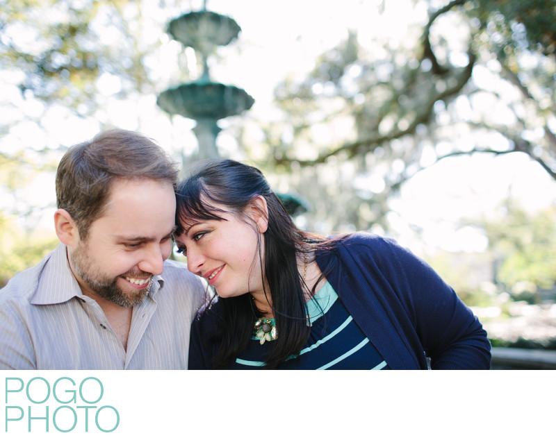 Savannah Wedding Photographer with SCAD Alumni Proposal
