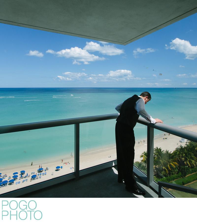 South Beach Wedding Photography at Eden Roc Hotel