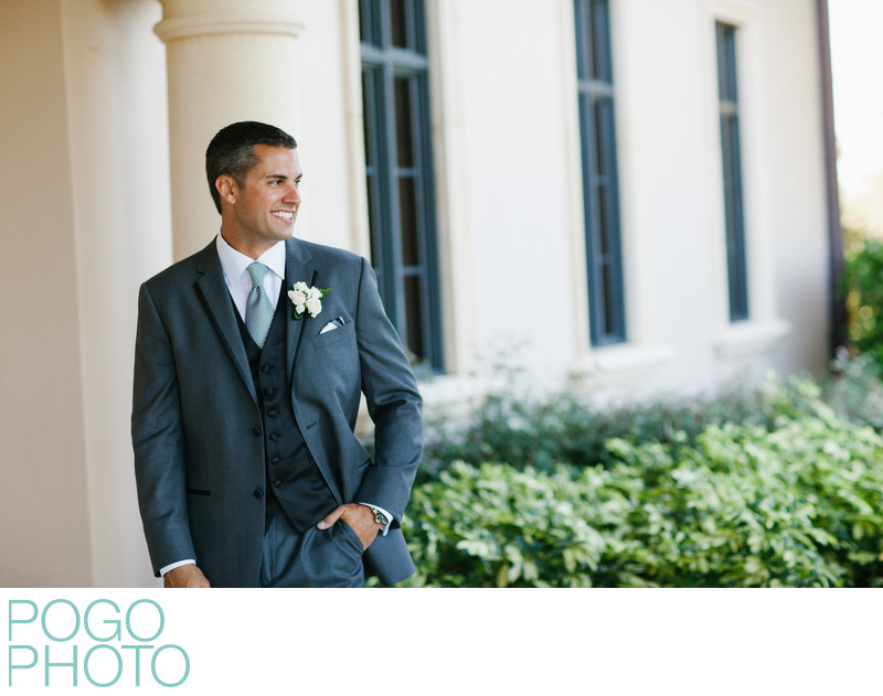 Sexy Salt & Pepper Groom at Ritz-Carlton Naples Florida