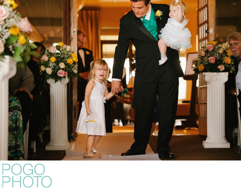 Terrified Flower Girl Has Aisle Meltdown, The Breakers