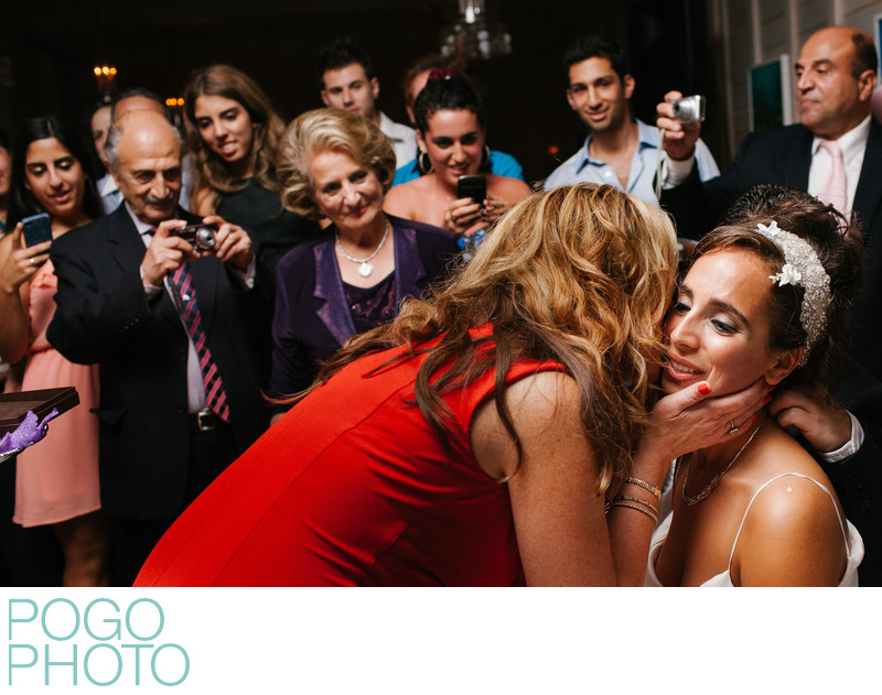 Armenian Jewish Engagement Party Documentary Photograph